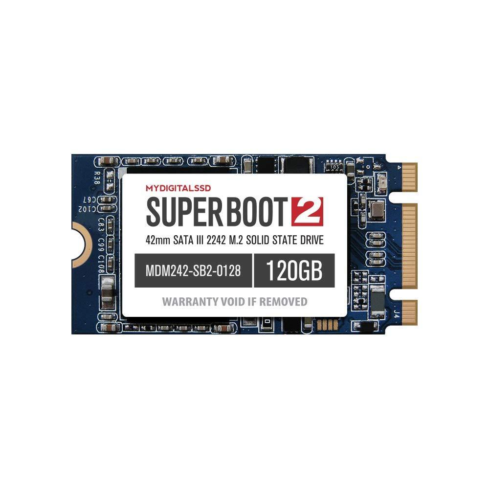 MyDigitalSSD Super Boot 2 (SB2) 42mm (2242) SATA III (6G) M.2 NGFF SSD Solid State Drive (128GB (120GB))