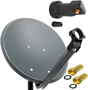 SHARP vía con sistema PXS 100 cm Schüssel Espejo de antena en ...