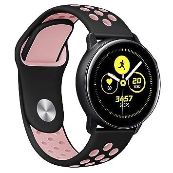 MyRBT- Correa de Silicona para Samsung Gear Sport Smartwatch ...