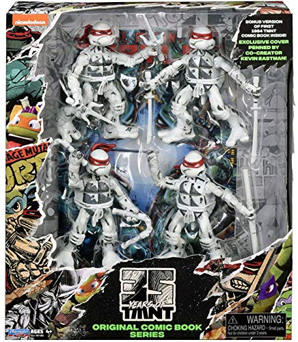 Teenage Mutant Ninja Turtles 35th Anniversary Figure 4 Pack (Exclusive) (Action Comics 35)