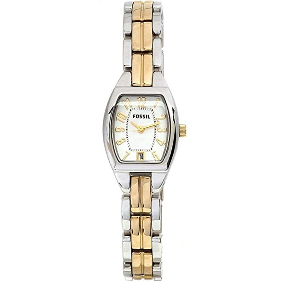 Fossil ES2074 - Reloj de pulsera mujer, acero inoxidable, color multicolor