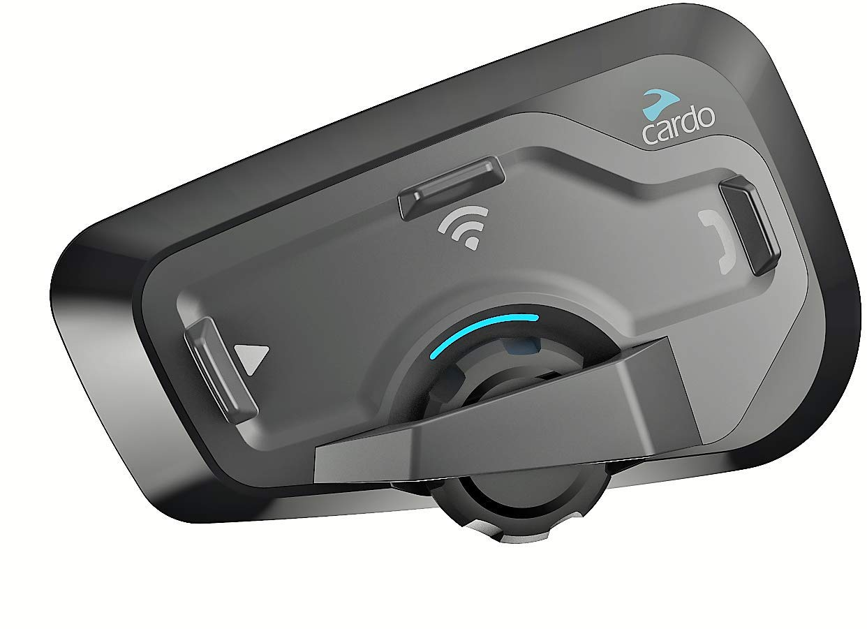 Cardo FREECOM - Sistema de comunicación Bluetooth para motocicleta con audio HD, Freecom 4 PLUS