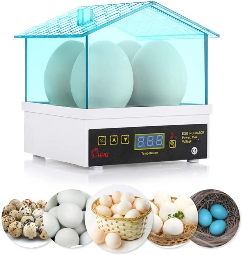Forart Incubadora de huevos digital completamente autom/ática 4//7//9//12 incubaci/ón de huevos de aves de corral para gansos salvajes incubadora de huevos autom/ática incubadora-incubadora