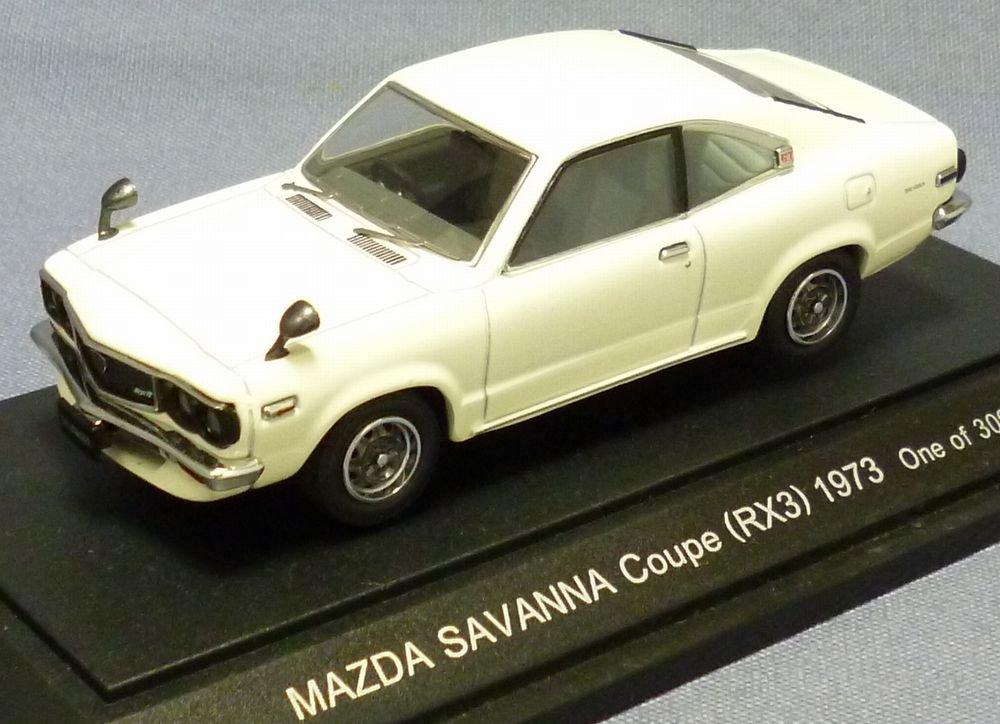 エブロ 1/43 マツダ サバンナ RX-3 1973 ホワイト 43546 完成品 B001FBR27W