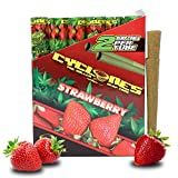 Cyclones Strawberry Pre-Rolled Flavored Hemp Wraps (12 Packs, 2 Wraps Per Pack) Total 24 Wraps and ES Scoop Card