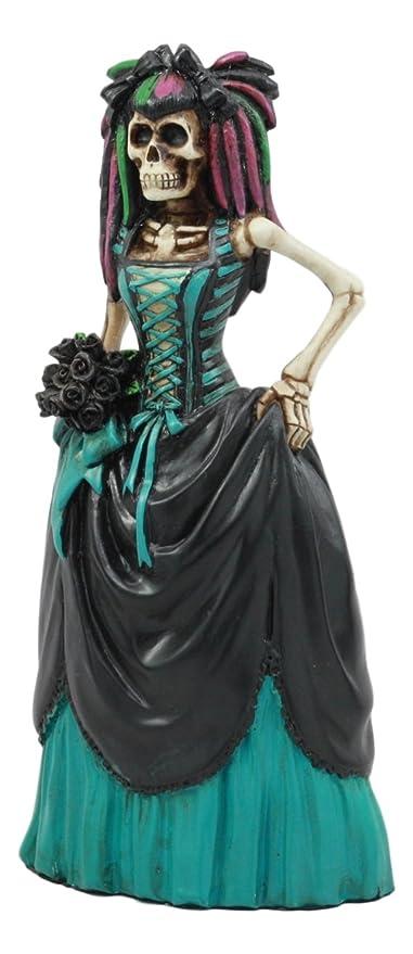 Amazon.com: Ebros Day Of The Dead High Fashion Ballroom Skeleton ...