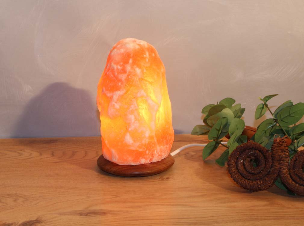 pi/èce de 2 a 3 kg Lampe en cristal de sel