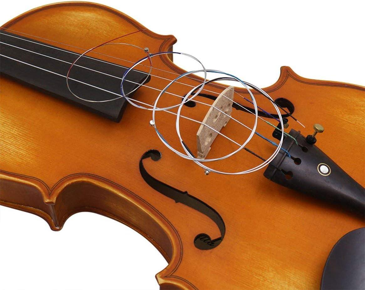 German Violin Strings Set Ball End A E G D Set Violino String for 4//4-1//8 Violin