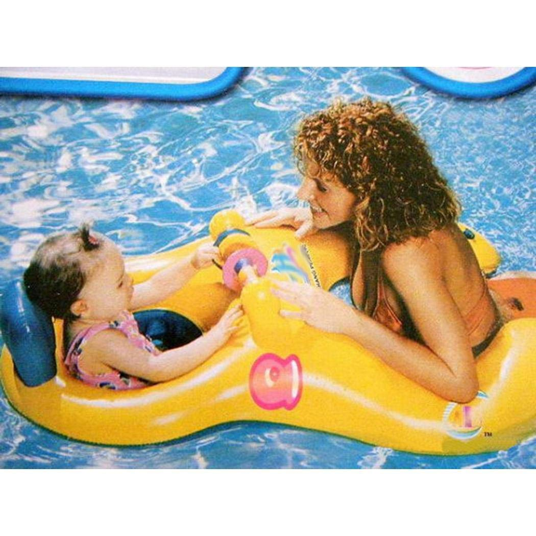 Kindes Inflatable Mother Baby Swimming Ring Pool Float Toy Water Floats for Baby and Parents by Kindes (Image #3)