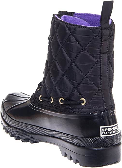 Gosling Rain Boot - Black Quilted (6
