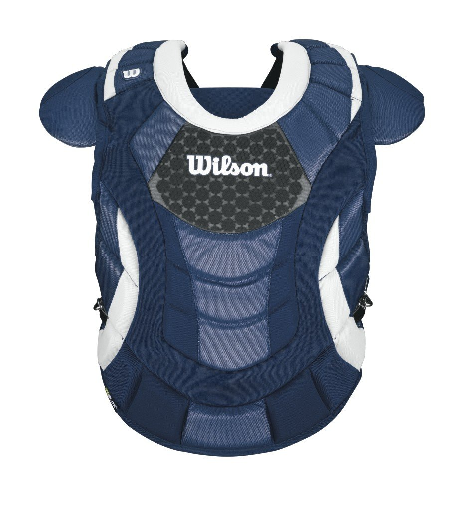 Wilson Promotion Fast Pitch Chest Protector with Isoblox, Navy, Intermediate