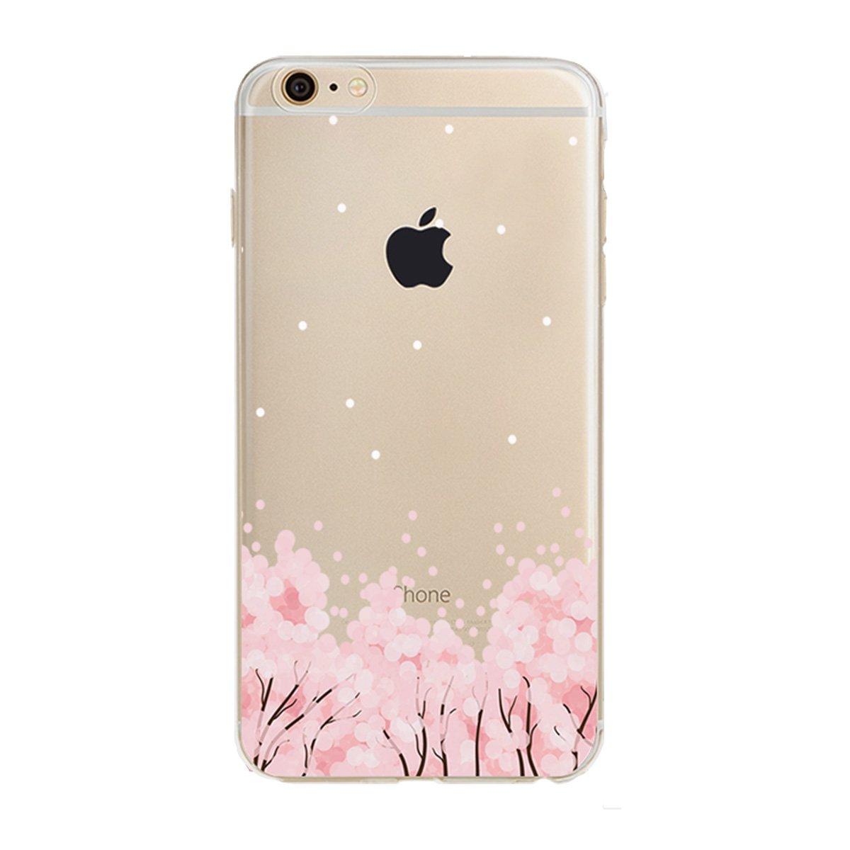iPhone 6S Plus 用のケース iPhone 6 Plus 用のケースPHEZEN iPhone 6S Plus TPU ケース 豪華版きらきらダイヤモンド クリスタルのように透明 柔らかいTPUシリコーン製の裏カバー 5.5インチのiPhone 6/6S Plus用のドリームキャチャーの柄付き RT7886X(11#) B01LY14MQX Floral #11 Floral #11