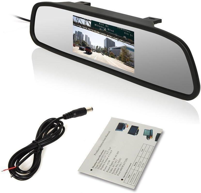 1280*720 Pixel HD Nachtsicht R/ückfahrkamera f/ür Mercedes Sprinter W906 W907 W910 316 CDI Viano Vito Transit Ducato VW Crafter 【Super HD R/ückfahrkamera Set】4.3 Zoll TFT LCD Farbdisplay Auto Monitor
