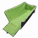 DINKANUR Pet Mat for car Scratch Pad Waterproof Car Rear Seat Cushion Hanging Protector Pet Dog Cat Safe travel Carrier (green) Review