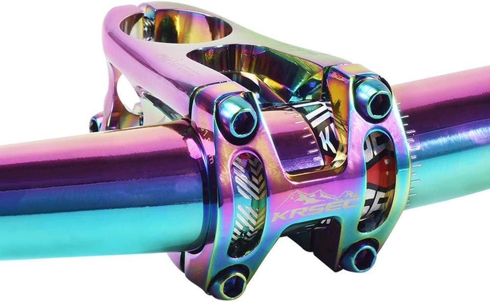Guidon court creux pour VTT DH FR XC Multicolore 31,8 mm x 50 mm