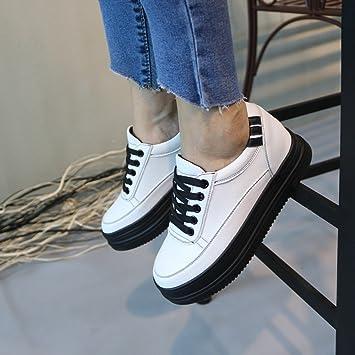 comparer les prix factory grande remise Chaussures HAIZHEN Dames Filles Bottillons sport pour femme Comfort Spring  Fall marche Plateforme décontractée en dentelle extérieure pour les 18-40  ...
