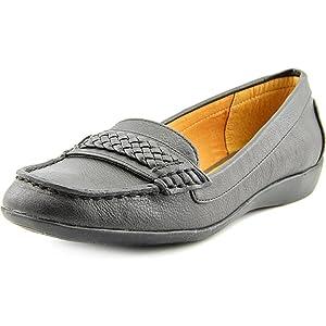 American Living Ulyssa Women US 9.5 Black Moc Loafer