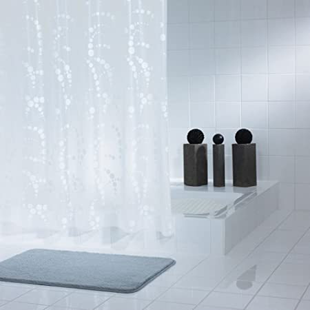 Cortinas de baño cortina curtainsliving sala de casa Prueba del moho impermeable Espesar Cortina de ducha translúcida Mampara de baño para evitar la cortina-C: Amazon.es: Hogar