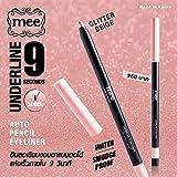 Best Thailand Kat Von D Eyeliners - Mee Underline 9 seconds Auto Pencil GLITTER Beige Review