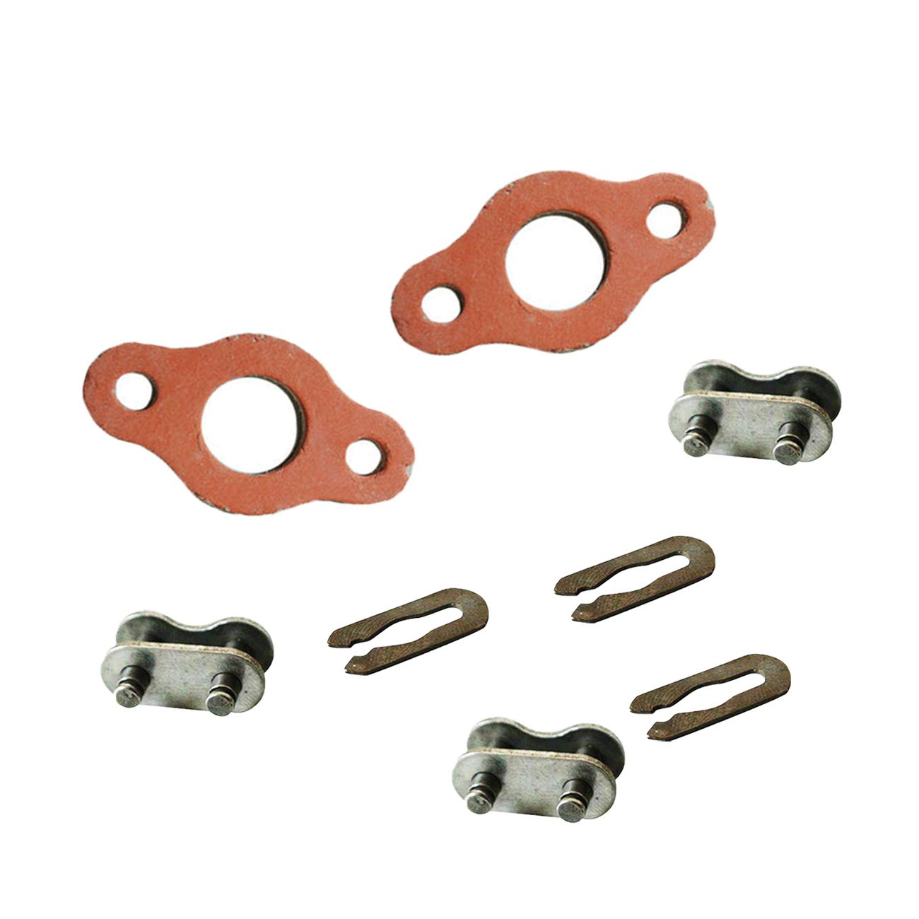 New 3xChain Master Link/&1 Set Gasket Fits 49//66//80cc 2 Stroke Engine Motorized Bike