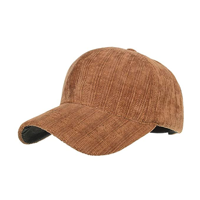 Sombrero de Rioja Gorra de béisbol de Pana de otoño e Invierno ...
