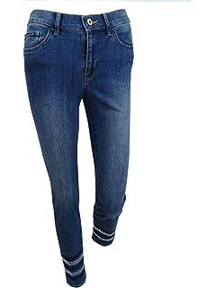 e8667548b4d Tommy Hilfiger Womens Greenwich Denim Mid-Rise Classic Straight Jeans
