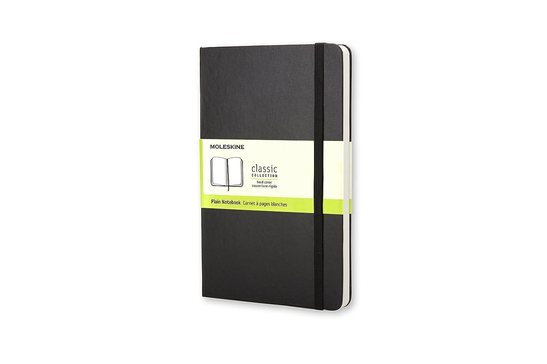 Moleskine Cuaderno Grande Con Paginas Lisas,(xmp)