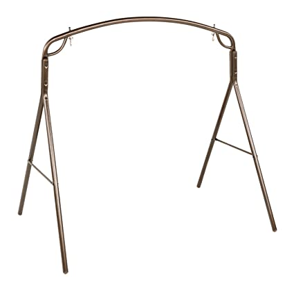 Amazon.com : Jack Post Woodlawn Swing Frame in Bronze Finish : Porch ...