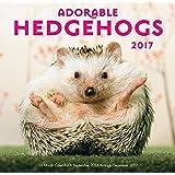 Adorable Hedgehogs Mini 2017: 16-Month Calendar September 2016 through December 2017