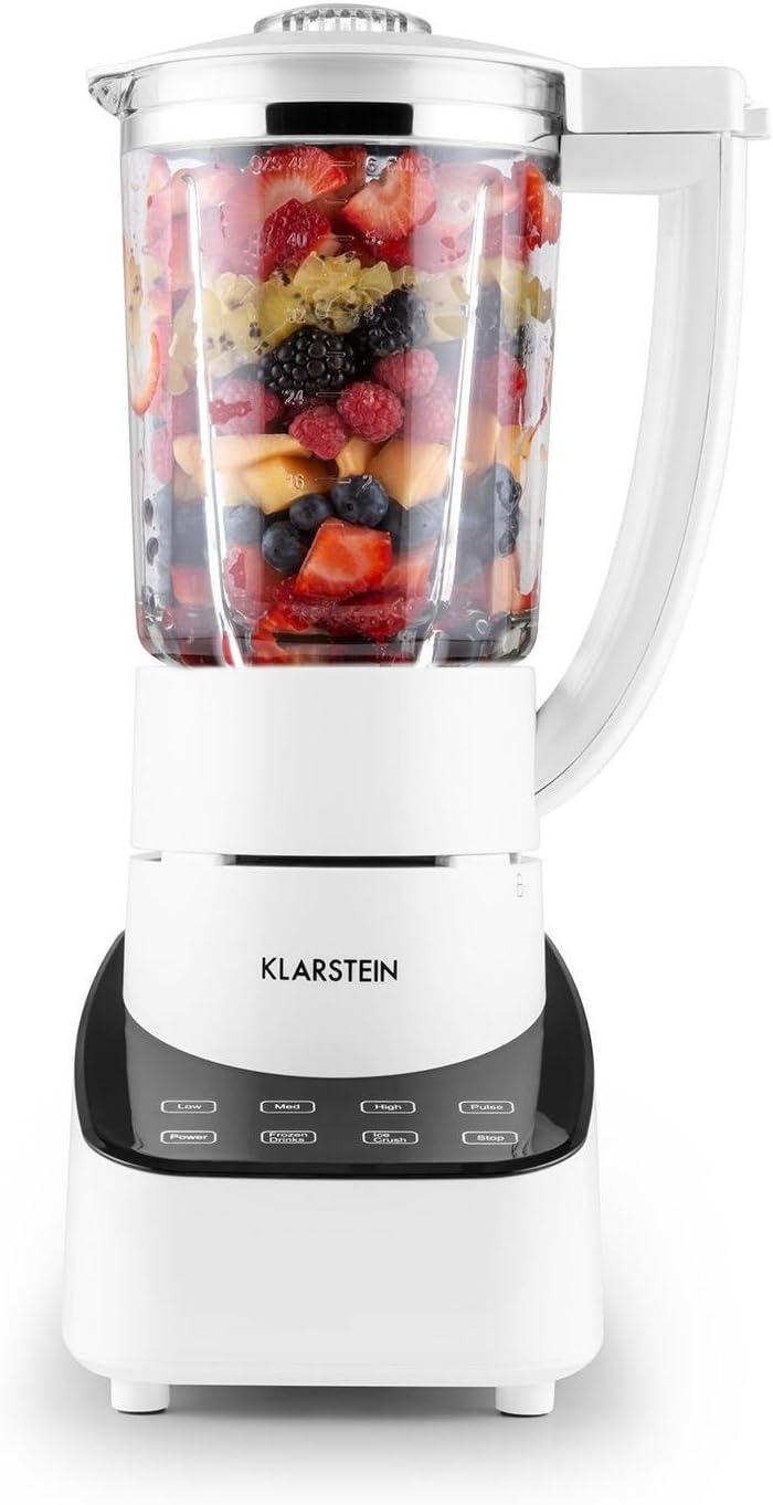 Klarstein 10028107 Batidora de vaso 1.5L 700W Blanco - Licuadora ...