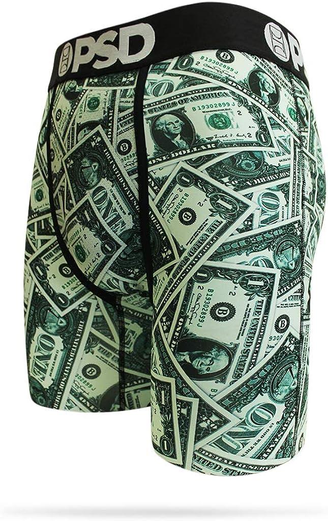 B07TRPCNY7 PSD Underwear PSD Mens Singles Athletic Boxer Briefs, Black, Medium 61OTsOcxe3L