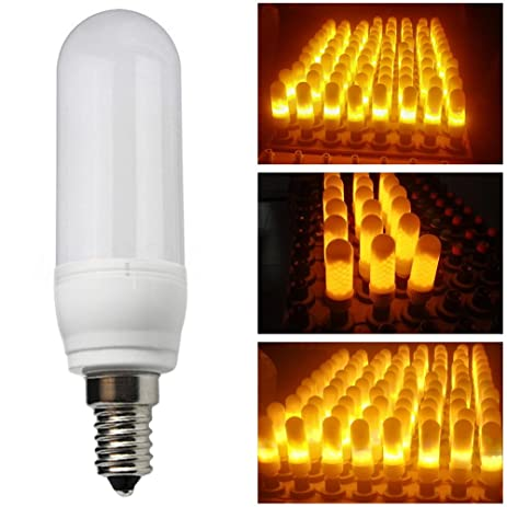 Amazon e12 flame bulb flicker led light bulbs moving fire e12 flame bulb flicker led light bulbs moving fire effect for festival party indoor aloadofball Images