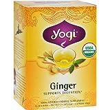 Ginger Tea Organic Yogi Teas 16 Bag