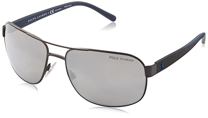4c54b0b3e8 Amazon.com  Polo Ralph Lauren Men s Metal Man Sunglass Polarized ...