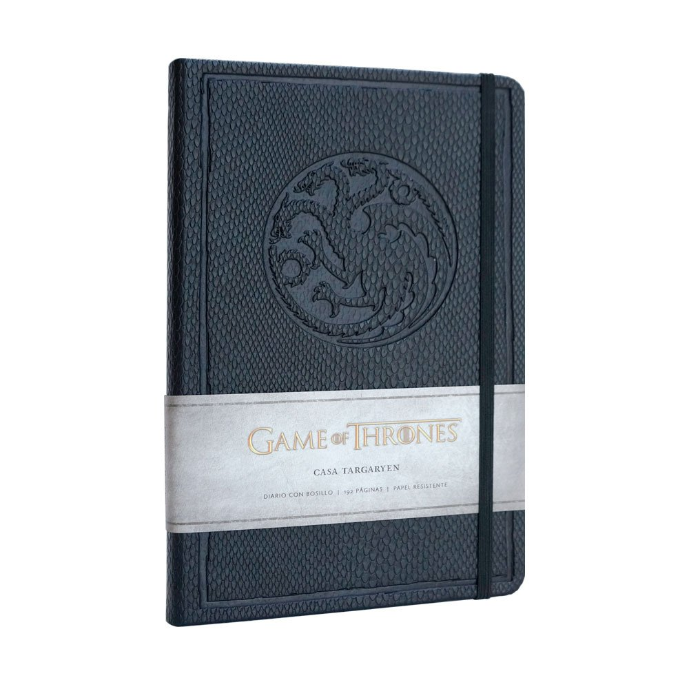 Cuaderno Juego de tronos, casa Targaryen: Amazon.es: Juego ...