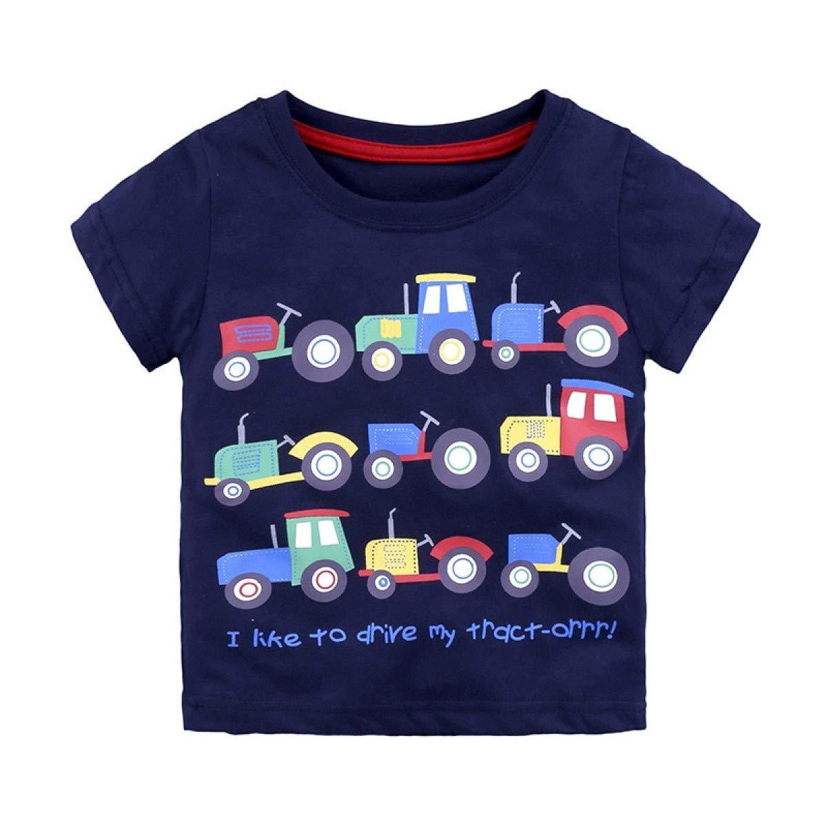 Warlmarts 3-6Y Casual Fashion Summer Toddler Baby Boys Cotton Style Short Sleeve O-Neck