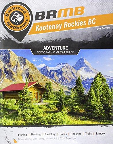 Kootenay Rockies (Backroad Maps, 4)