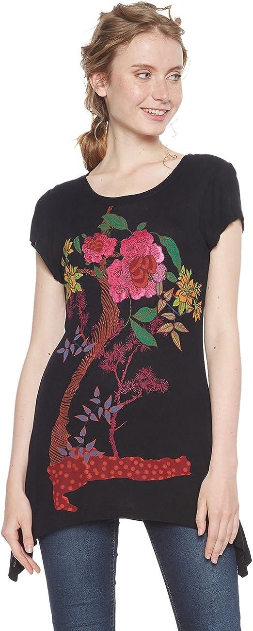 Desigual TS_chiasa Camiseta para Mujer
