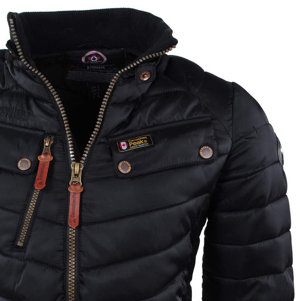 Canadian Peak - Chaqueta - para Hombre Negro XL: Amazon.es: Ropa y accesorios