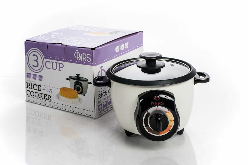 PARS Automatic Persian Rice Cooker (3 CUP)