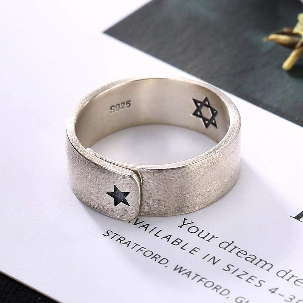Dixinla Ring verstellbar , S925 Sterlingsilber