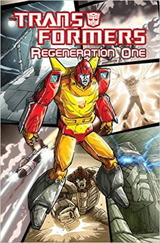 Transformers Regeneration One Volume 4