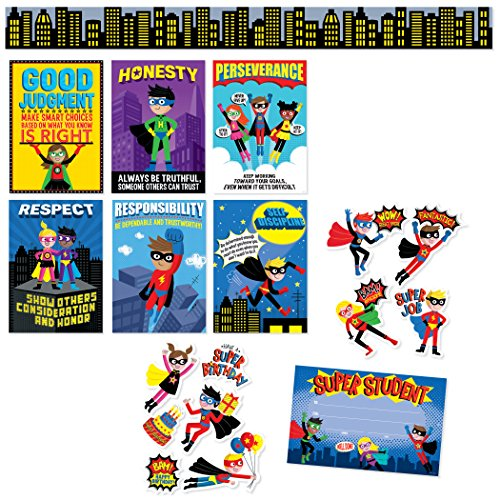 Creative Teaching Press CTP8885 Super Hero Classroom Pack (Pack of 148) for $<!---->