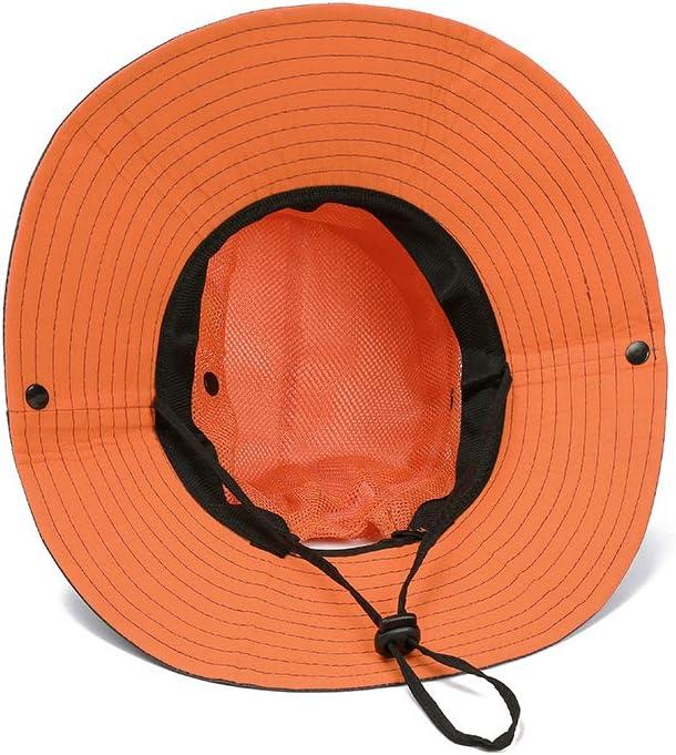 VICSPORT Sombrero de Sol para Mujer Gorro de ala Ancha de Malla/Sombreros de Pesca al Aire Libre Protecci/ón UV