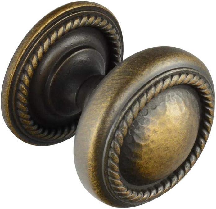 #6501 Ckp Brand Hammered Knob, Golden Bronze