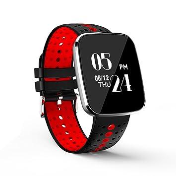 Reloj Inteligente Bluetooth 4.4, Smartband Pulsera Actividad Inteligente Deporte Fitness con Monitor de Ritmo Cardíaco para Android IOS: Amazon.es: Deportes ...