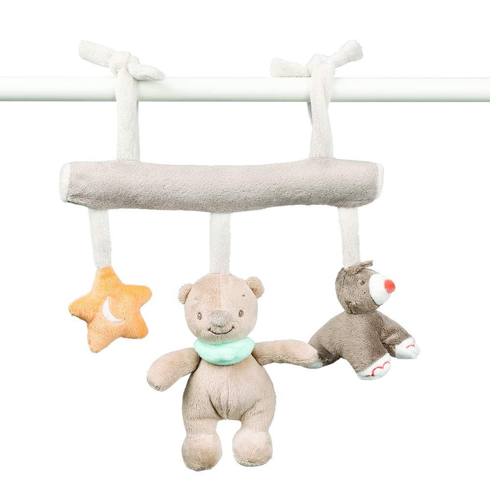 M/ädchen und Jungen Fanny und Oscar Nattou Babyschale Spielzeug