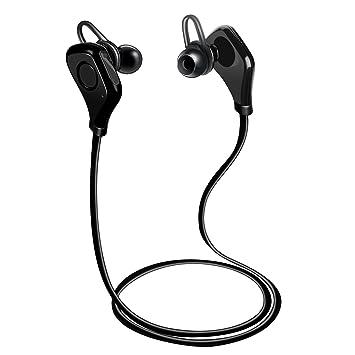 Auriculares Bluetooth para iPhone X, TechCode Auriculares Bluetooth Auriculares intrauriculares Bluetooth Sport inalámbrico con micrófono