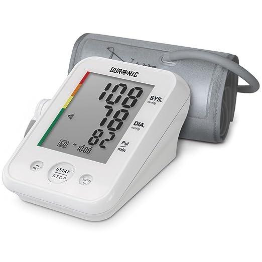 115 opinioni per Duronic BPM150 Misuratore di pressione arteriosa digitale automatico da braccio