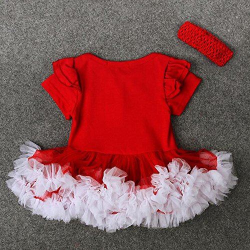 Principessa Partito Bambino Del Stile Due maniche Fantasia Abiti Lunghe Capodanno Corte Ragazze Gonna Bambini Vestito Tutu Maniche Bozevon Abito Natale 8dFvqFw
